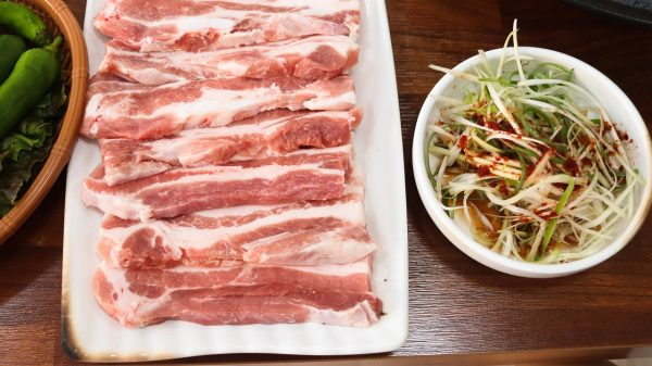 pork, korea, meat
