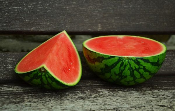 watermelon, melon, juicy