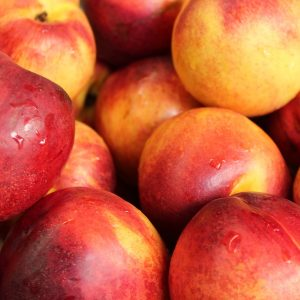 nectarines, fruit, fresh